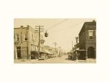 An early Fort Payne Street Scene