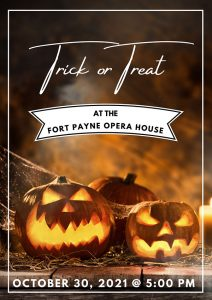 Trick or Treat at the Opera House
